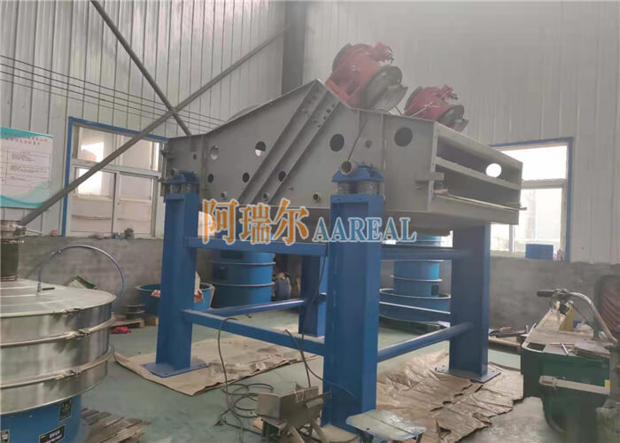 Stainless High-efficiency Linear Vibrating Screen for Sugar