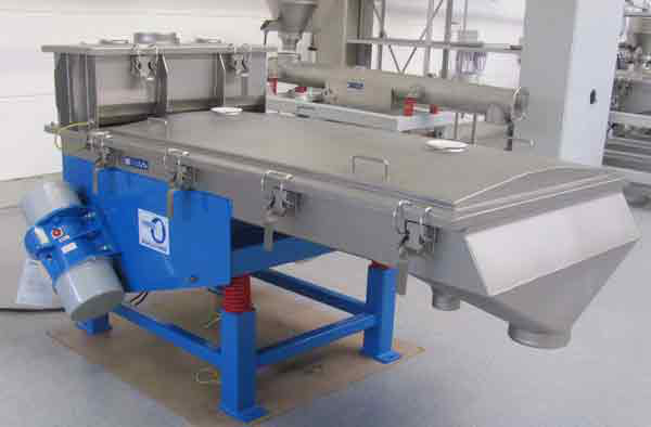 linear vibrating sieve