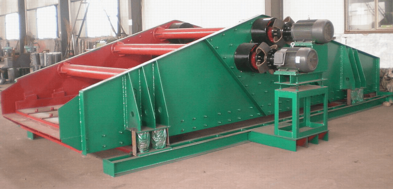 Vibration Exciter Type Dewatering Screen
